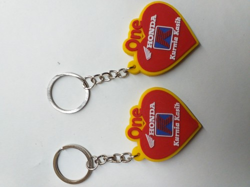 Gantungan kunci karet Gantungan kunci karet