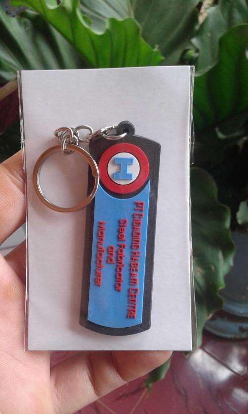 Gantungan kunci karet CSM
