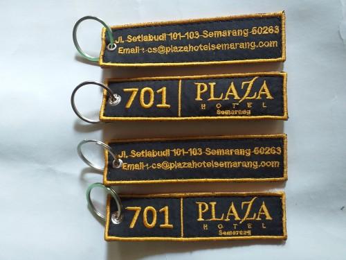 Gantungan kunci karet Gantungan kunci bordir
