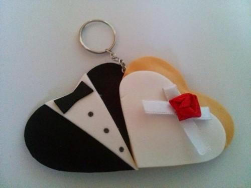 Gantungan kunci karet Ingin Souvenir Pernikahan Gantungan Kunci Desain Sendiri? Kami Bisa Mengabulkannya!